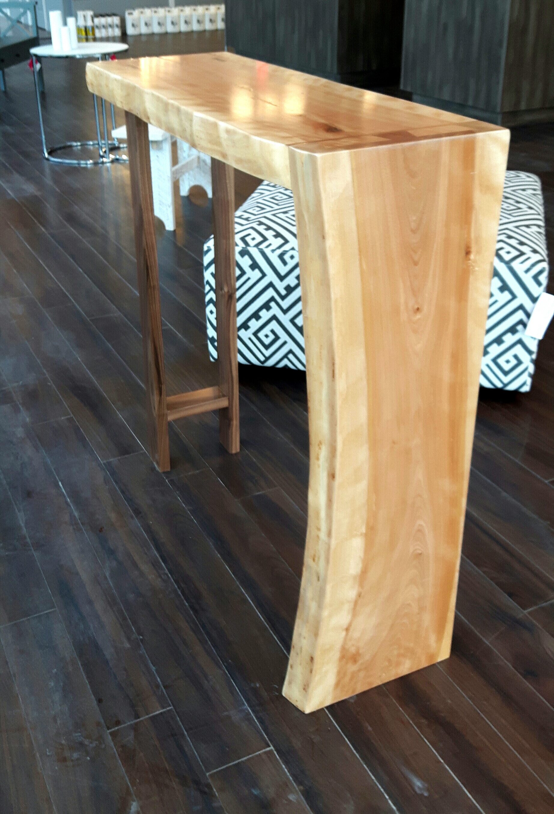 Table console Live Edge