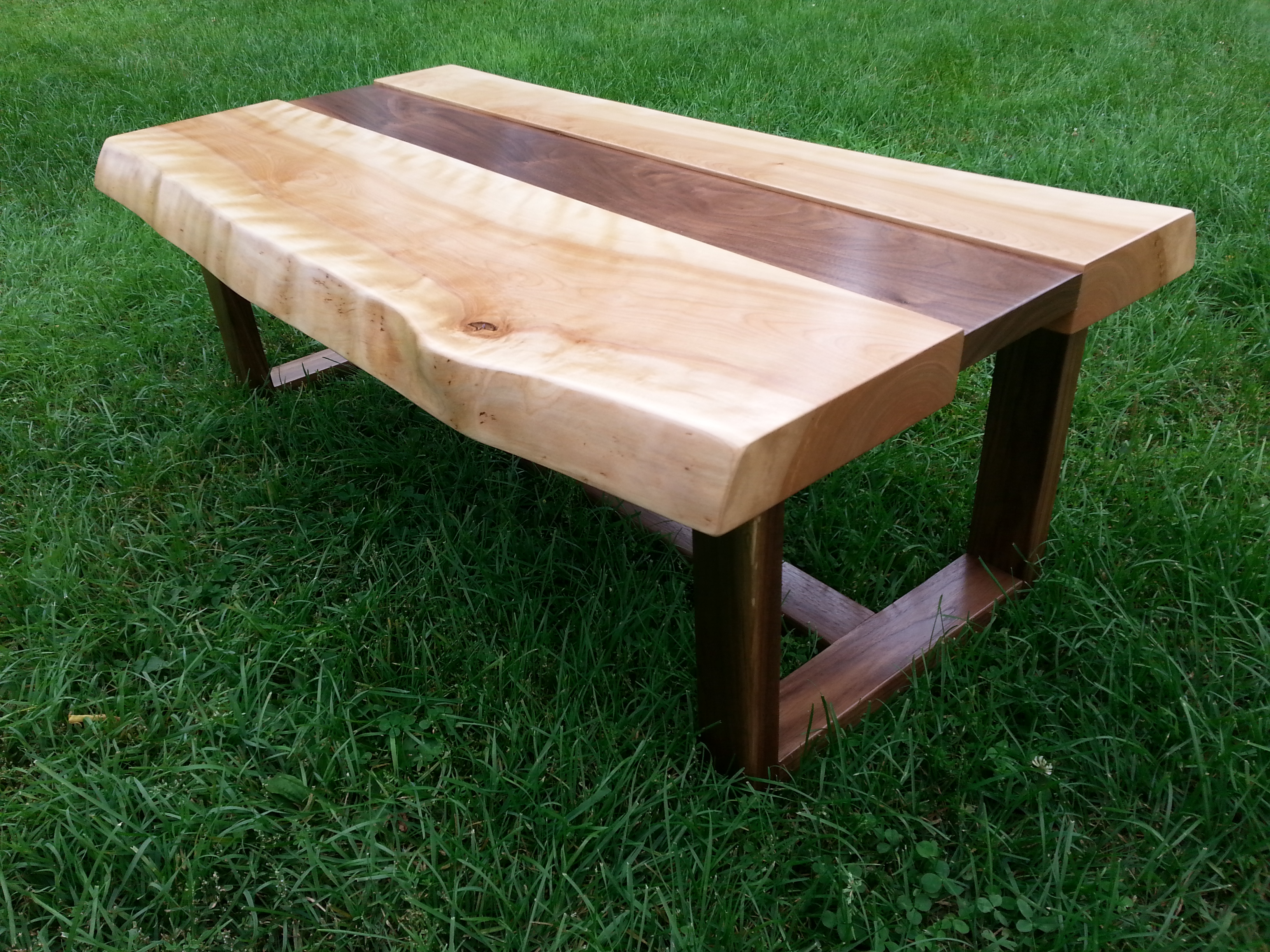 Live Edge - table basse