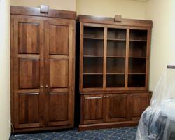 Armoire et bibliothèque