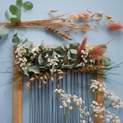 Floral wall hanging workshop