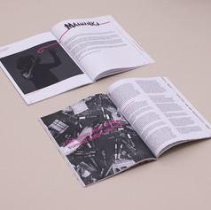 Magazine layout, 2020