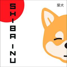 Shiba postcard, 2020