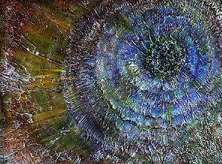 Starburst #15 18x24 acrylic on canvas .j