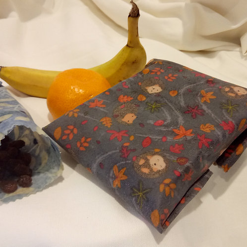 Beeswax Wraps - Two Medium, Two Small