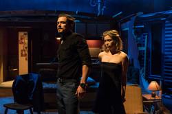 l-r Orlando Bloom (Killer Joe Cooper),  Sophie Cookson (Dottie Smith) - Killer Joe at Trafalgar Stud