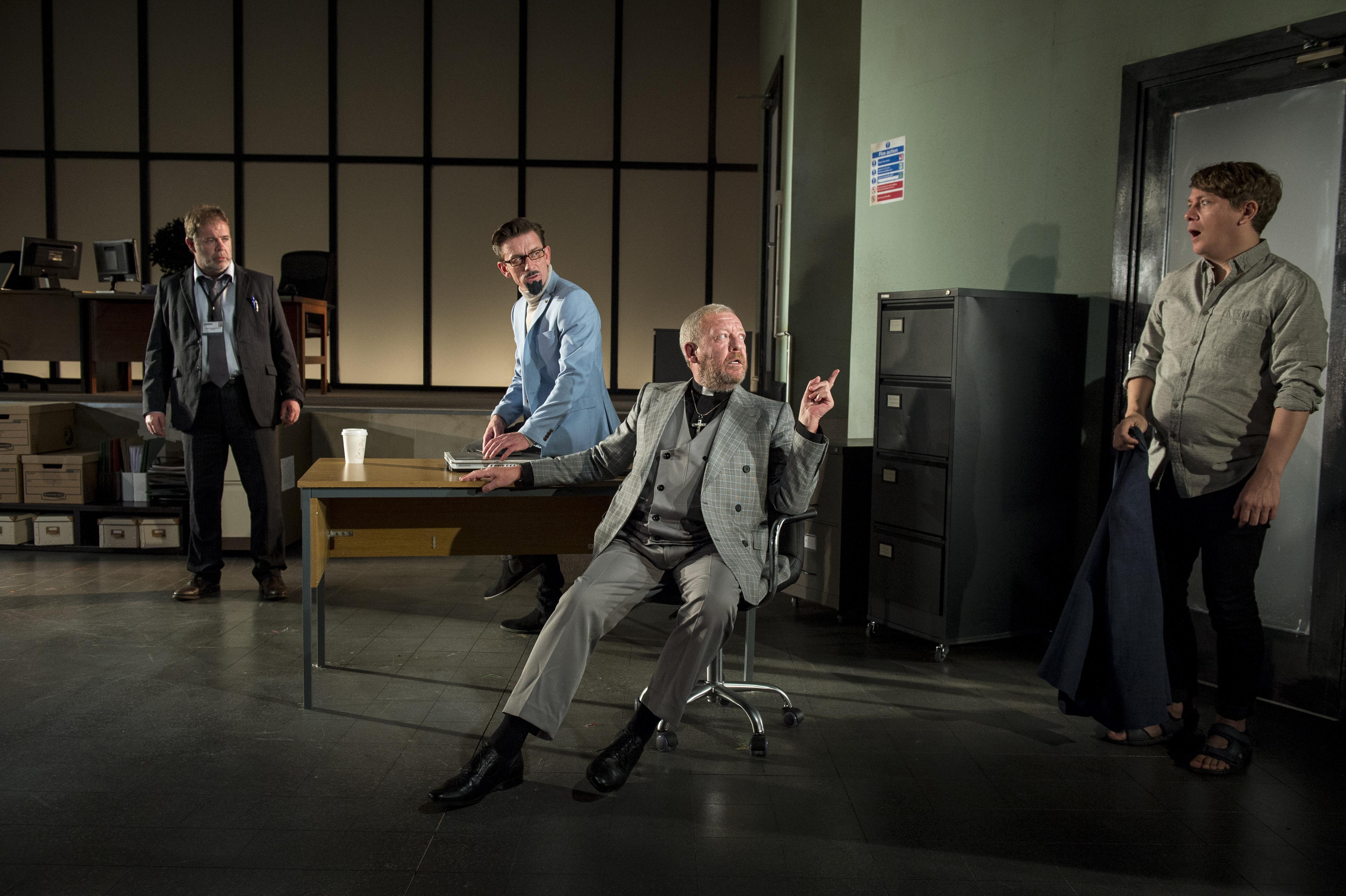 L-R Alan McKee, Tony Flynn, Philip O'Sullivan, Kevin Trainor