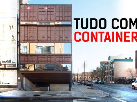 Melhor e Maior Casa de Container que você já viu!