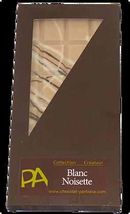 Tablette chocolat blanc-noisette