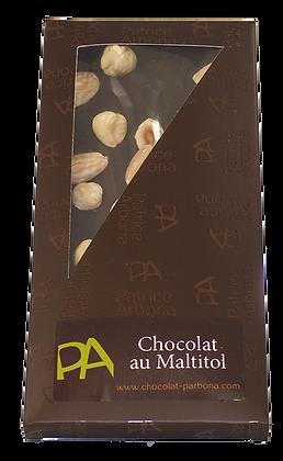 Chocolat Noisettes-Amandes au Maltitol