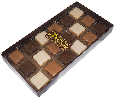 Calissons chocolat et praliné
