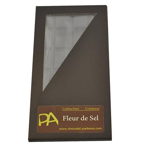 Tablette Créateur au chocolat noir Fleur de Sel