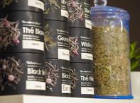 Un large sélection de thés