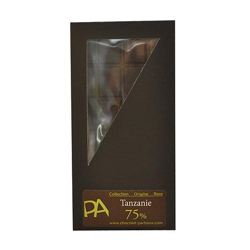 Tablette origine Tanzanie 75%