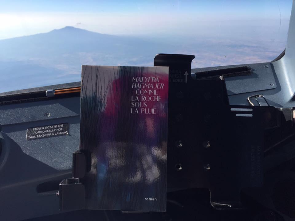 En survolant l'Etna...