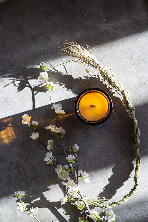 Spring 2021 Seasonal Candle—Apple Blossom & Sweetgrass