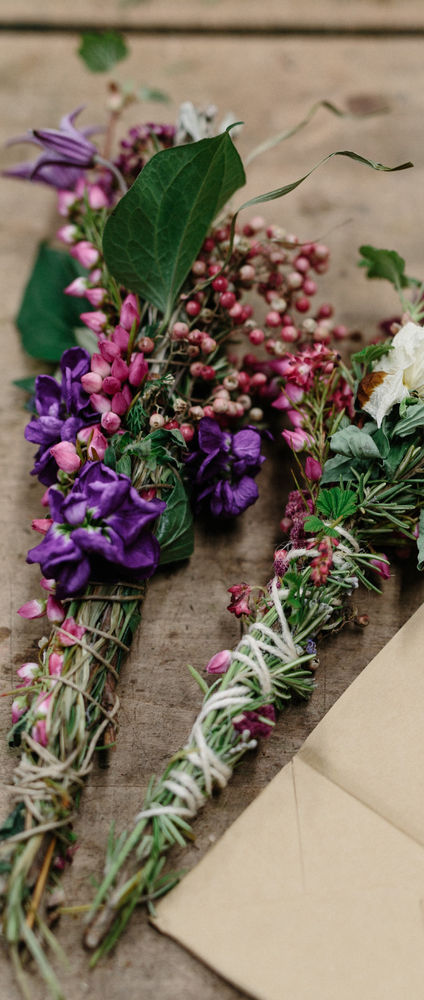 Floral Smudge Sticks: How to Make Them and Why You Won't