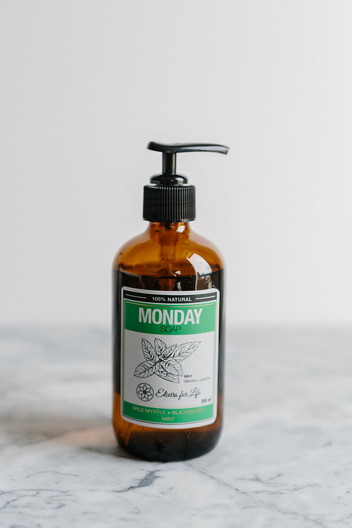 Monday Soap—Wild Myrtle, Blackberry & Mint