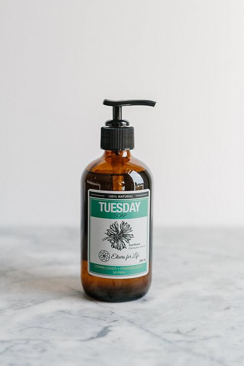 Tuesday Soap–Cornflower Frankincense & Myrrh