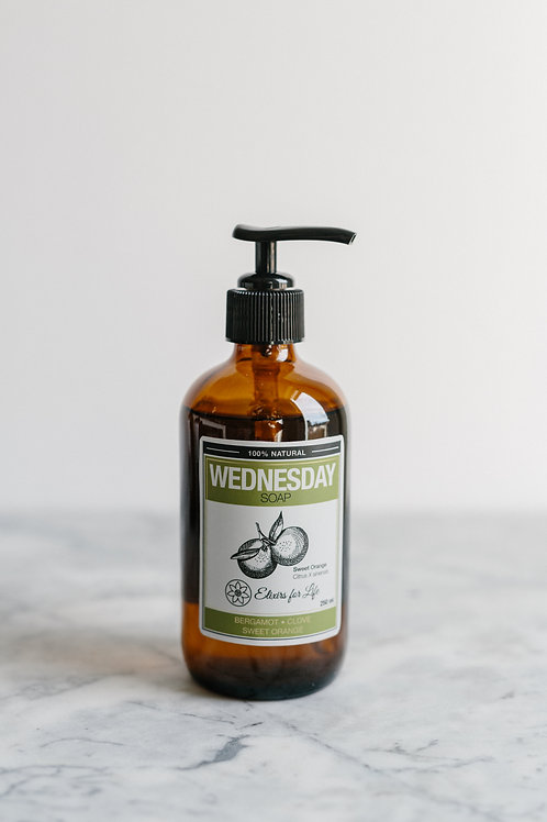 Wednesday Soap–Bergamot Clove & Sweet Orange