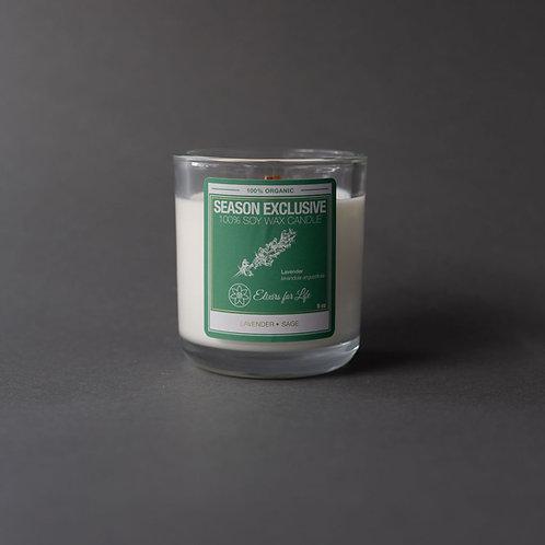 Lavender & Sage Fall Seasonal Candle
