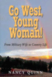 Book cover of Go West, Young Woman!