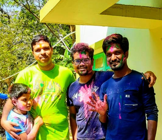 Cause it was all about Holi......