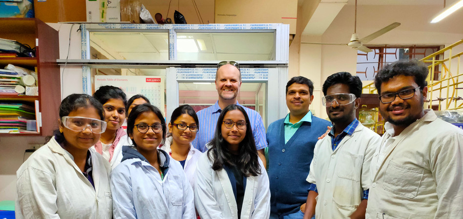 SKP group with Prof. Charl Faul