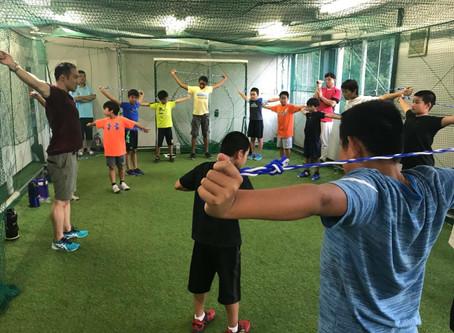 スポーツトレーニング体験会