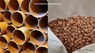 Reprocessed Materials, PVC Plastics Regrind, PVC Pipe Regrind