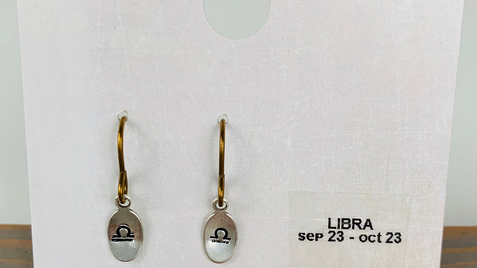 Libra Earrings