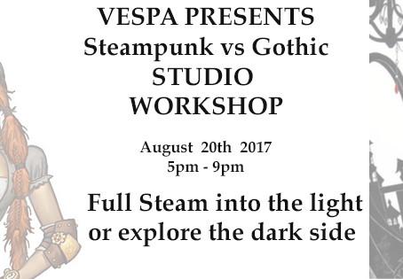 Steampunk vs Gothic Studio Workshop