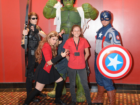 The Avengers PAC Style