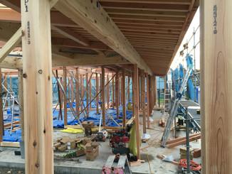自然と人が集まるコミニティ医院新築工事
