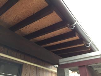 玄関屋根改装工事