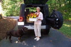 Delivering Flowers to Nursing Homes