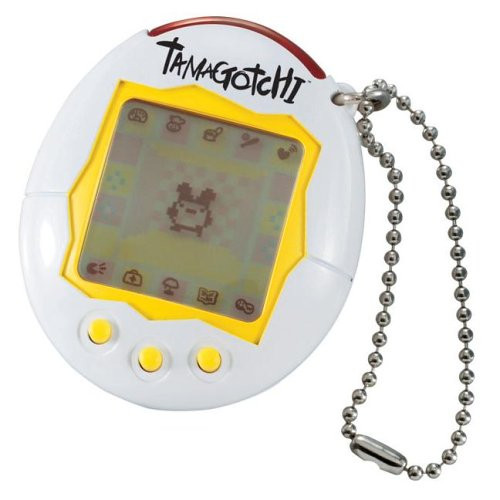 Image result for tamagotchi white yellow