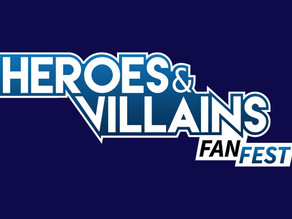 Attending the Heroes and Villain Fan Fest 2017