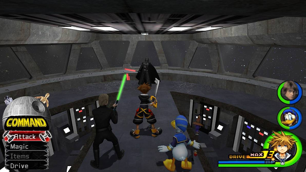 Kingdom Hearts - Star Wars World by Vitor-Aizen on DeviantArt