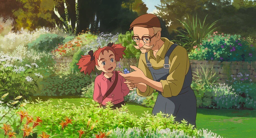 Image result for mary and the witch's flower scenery