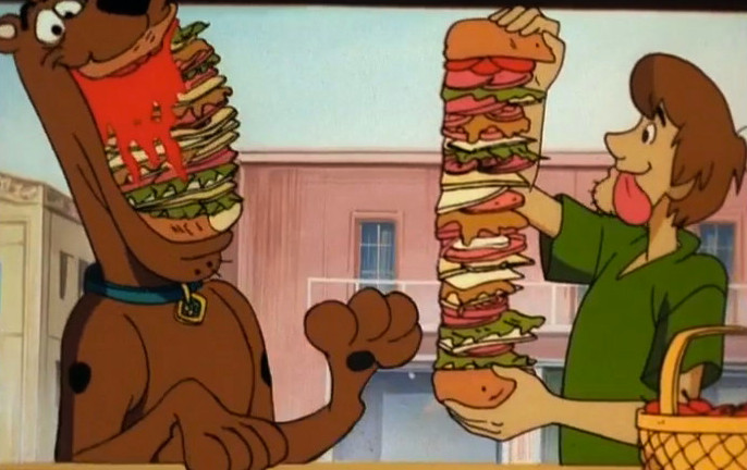 Image result for scooby doo sandwich