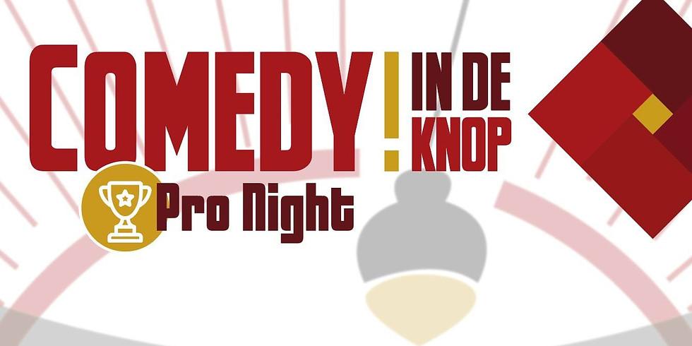 Comedy in de Knop Pro Night