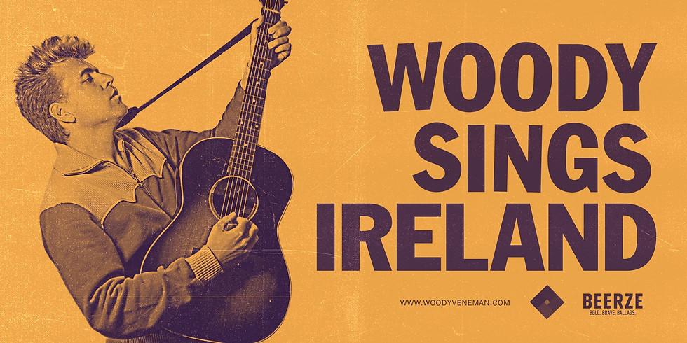 Woody SIngs Ireland