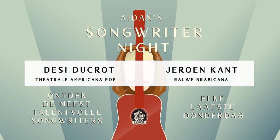 Dési Ducrot + Jeroen Kant | Aidan's Songwriter Night