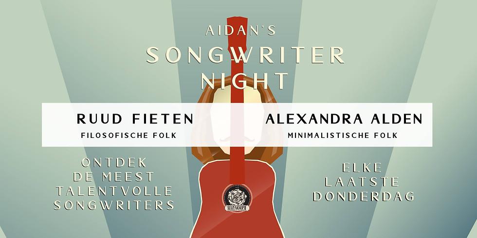Ruud Fieten + Alexandra Alden   Aidan's Songwriter Night