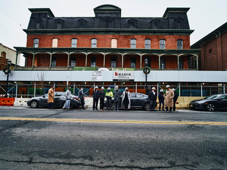 As work to stabilize the Union Hotel continues, Flemington leaders look for swift approval of plans