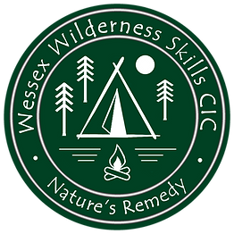 Wessex Wilderness Round Logo Green NEW M
