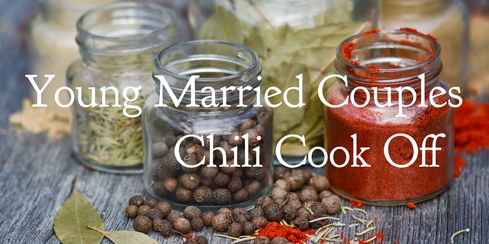Young Married Couples Chili Cook Off