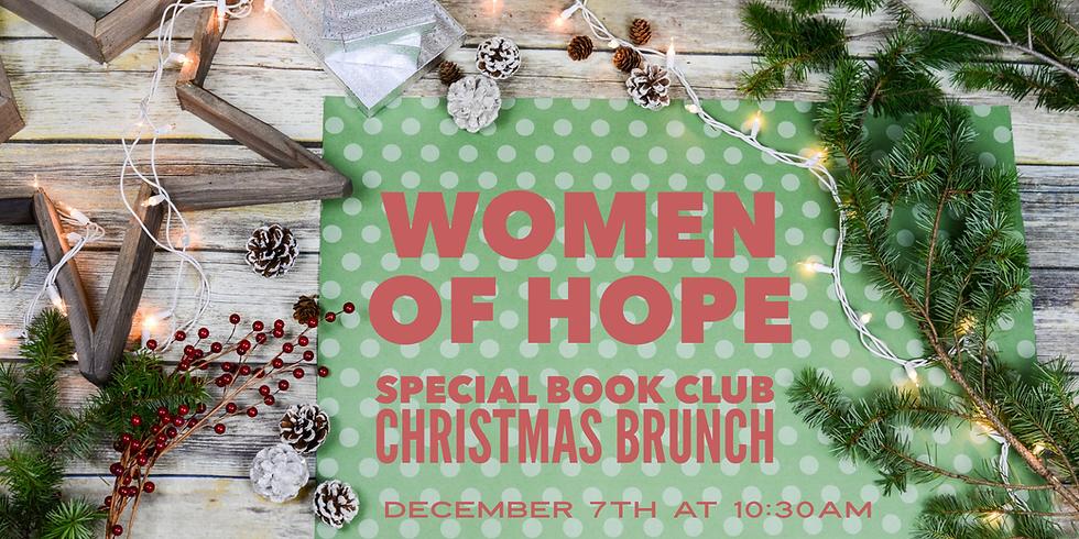 Women of Hope Book Club Christmas Brunch