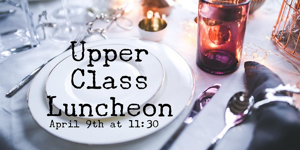 Upper Class (55+) Luncheon