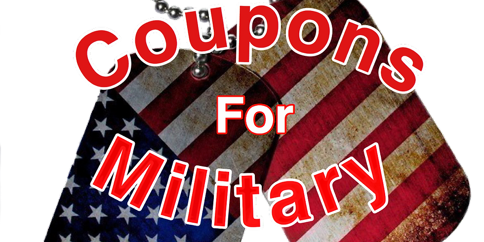 Cutting Coupons for the Military